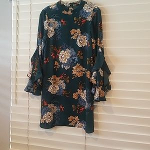 Fit for Fall, easy to dress up or down dress